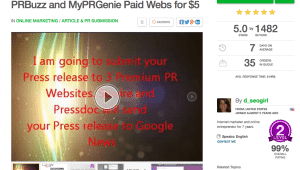 Best Press Release Service on Fiverr