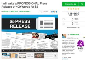 Cheap SEO Press Release